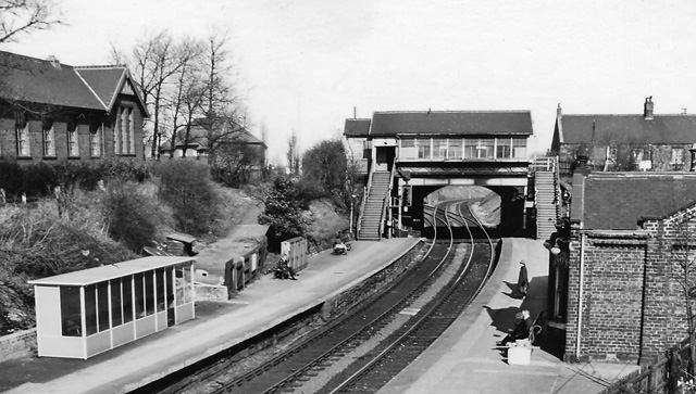 Backworth Station (1864-1977)