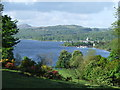 SD3197 : Coniston Water from Monk Coniston by Mike White
