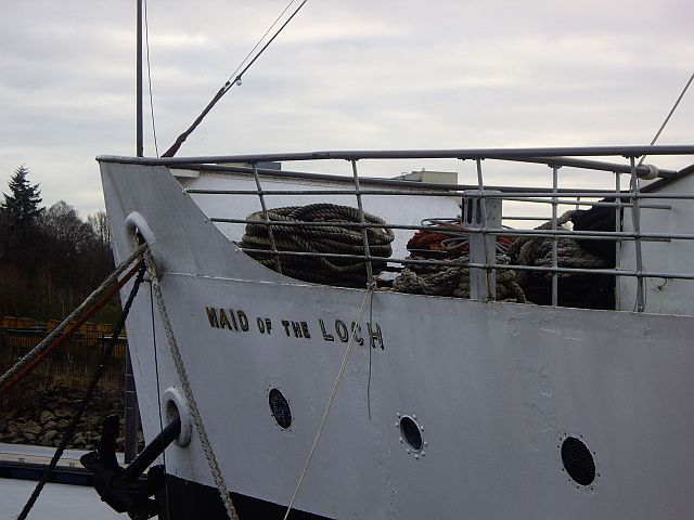 PS Maid of the Loch