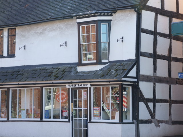 The Barbers Shop on Teme Street Tenbury Wells