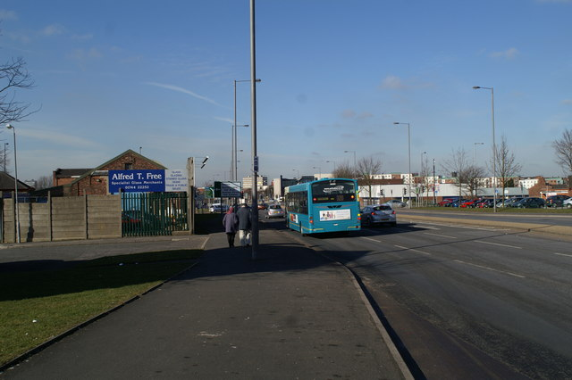 Parr Street (A58), Finger Post, Parr