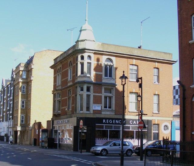 Regency Café Regency Street London