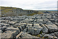SD8964 : Limestone Pavement above Malham Cove by Peter Church