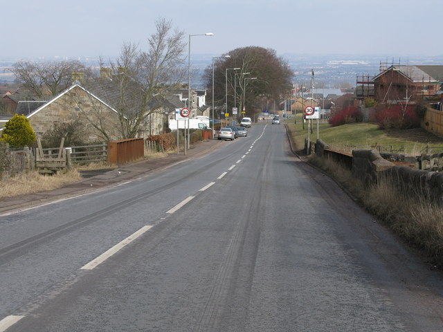 Entering Hamilton from the South
