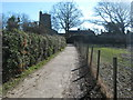 TQ8927 : Footpath to Wittersham by David Anstiss