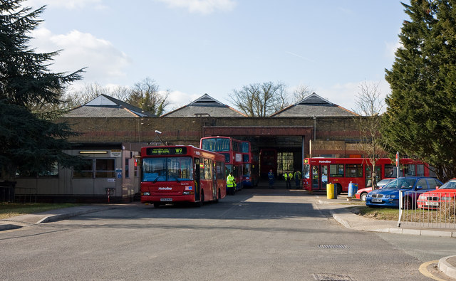 Potters Bar Bus Garage