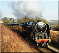 """SU6232 : The """"Pines Express"""" Leaves Ropley, Hampshire : Week 10"""
