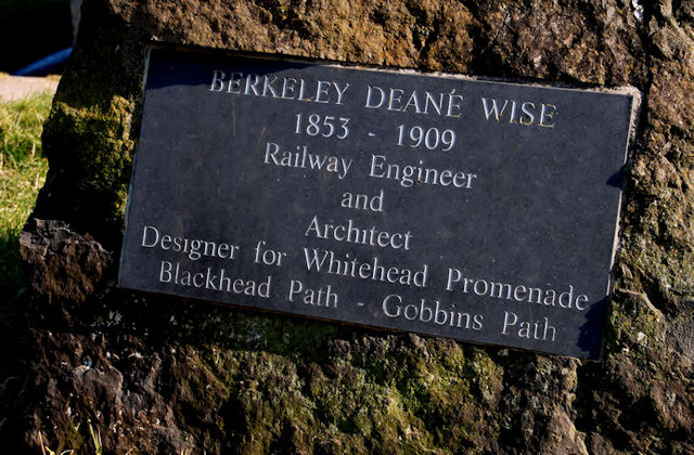 Berkeley Deane Wise plaque, Whitehead