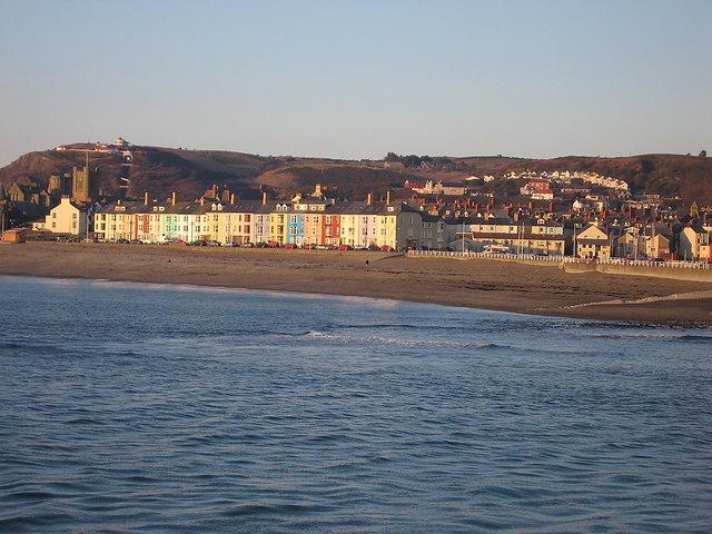 South marine terrace aberystwyth rudi winter cc by sa 2 for 6 marine terrace
