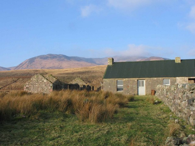 Bothy at Proaig on the Sound of Islay