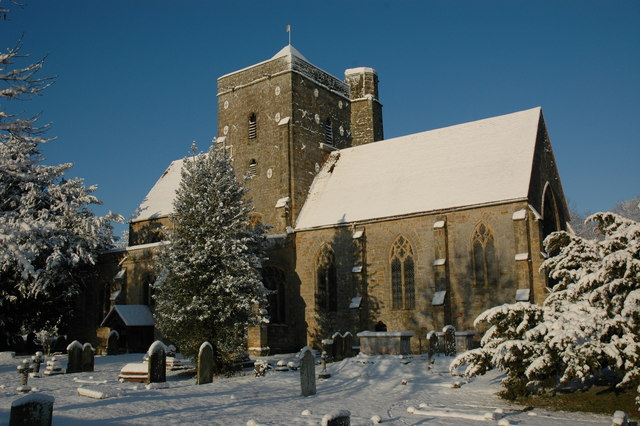Church of the Assumption of Blessed Mary and St Nicholas, Etchingham