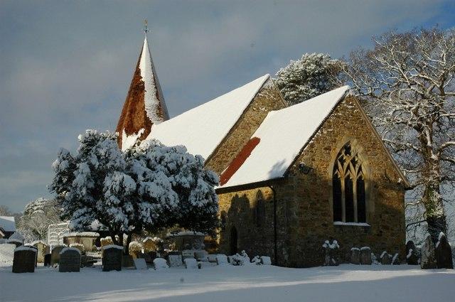 All Saints Church, Mountfield