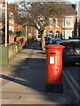 SK5837 : Pillar box on Patrick Road, ref NG2 162 by Alan Murray-Rust