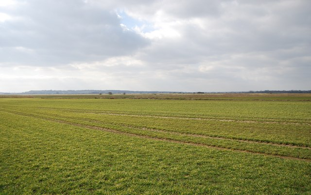 The flat landscape of the romney marshes c n chadwick geograph