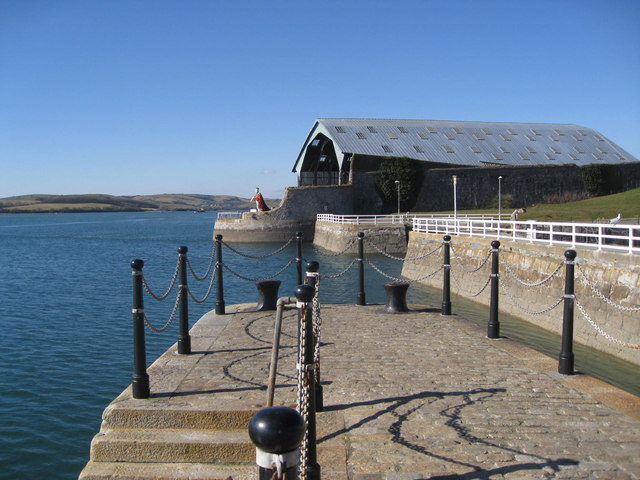 Point Froward - View from Mutton Cove quay