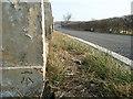 TL1182 : Bench Mark on a bridge post by Michael Trolove
