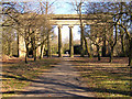 SD8303 : Heaton Park - Town Hall Colonnade by David Dixon