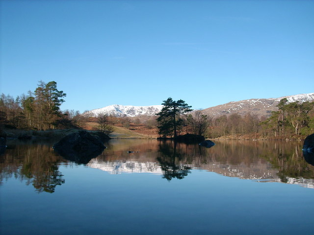 Tarn and reflection