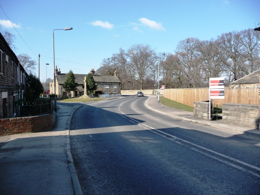 Village centre, Wragby