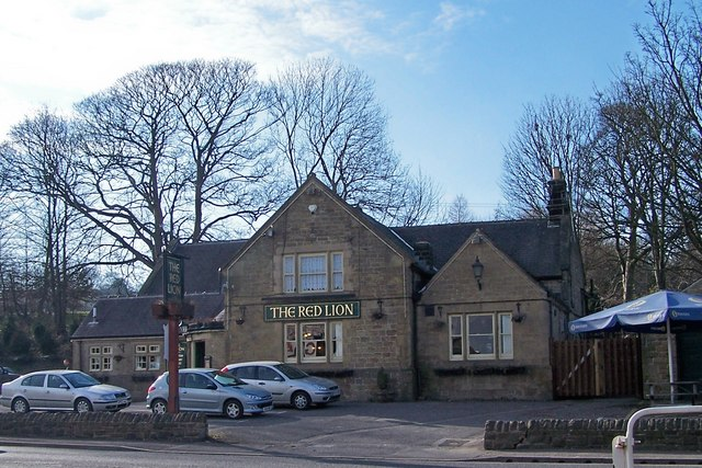The Red Lion - 'The Bottom Red' - Penistone Road, Grenoside, near Sheffield