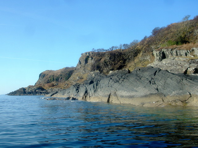 Outcrop on Kerrera SE coast