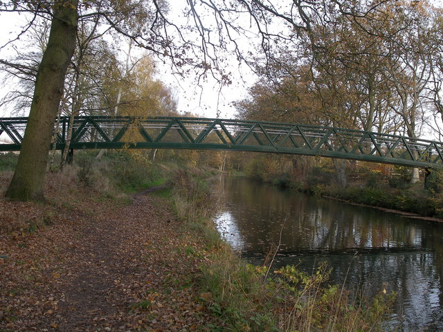 Foot Bridge, Basingstoke Canal, Aldershot