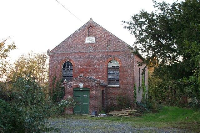 Former Zion Baptist Chapel, Newick