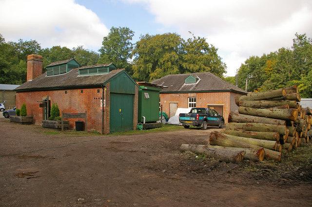 Norbury Park Sawmill
