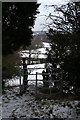 SJ5269 : Kissing gate on Kelsall Hill by Dave Dunford