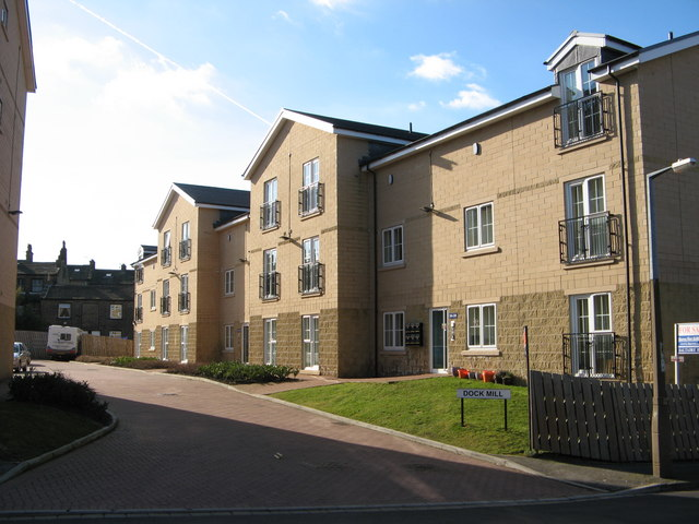 Dock Mill, Dock Lane, Shipley