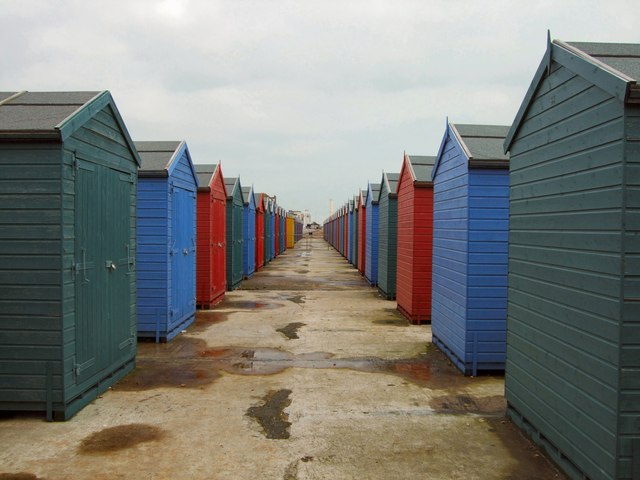Beach Huts at West St. Leonards