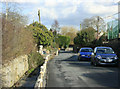 ST6560 : 2010 : The Street and Conygre Brook Farmborough by Maurice Pullin