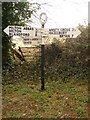 ST8001 : Milton Abbas: signpost at Pond Head by Chris Downer
