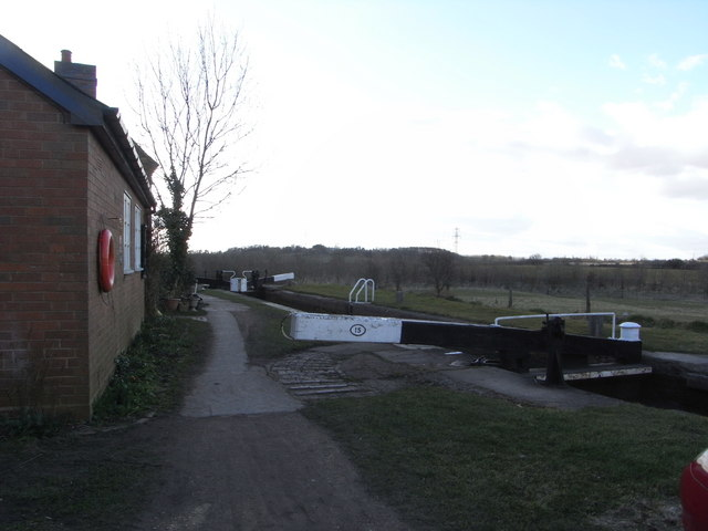 Lock No. 15, Worcester & Birmingham Canal