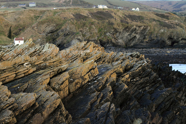 Rock formations on Niarbyl