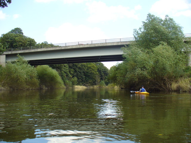 A5 Road Bridge over the River Severn