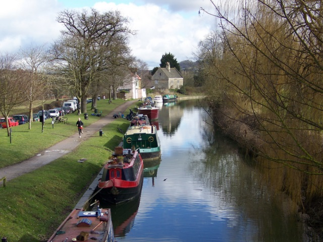 Beside the canal, Batheaston