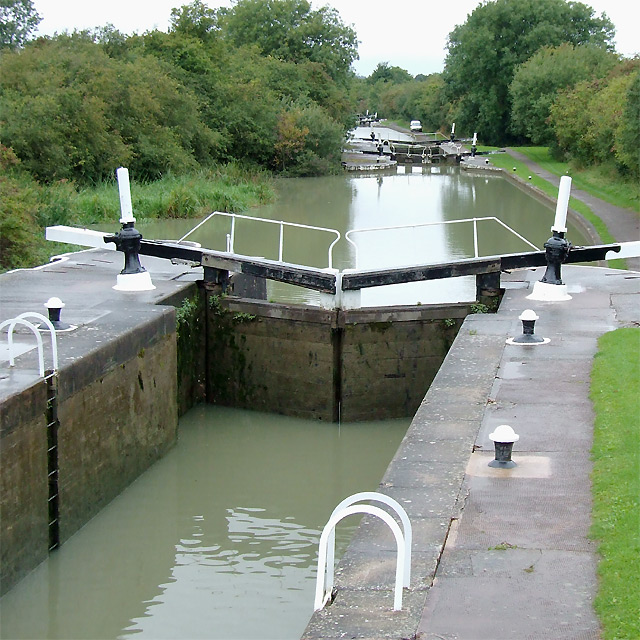 Bascote Locks No 15, near Long Itchington, Warwickshire