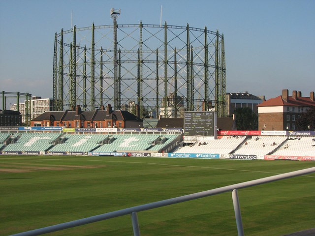 The Oval: gasholder