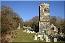 SX0882 : The Parish Church of St Julitta, Lanteglos by Tony Atkin