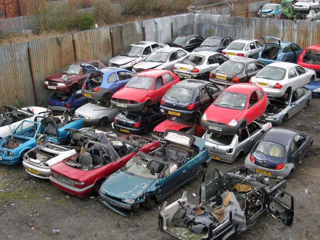 Car Breakers Near Me Vauxhall