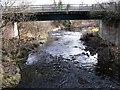 NS7063 : Bridge over Calder Water by Robert Murray