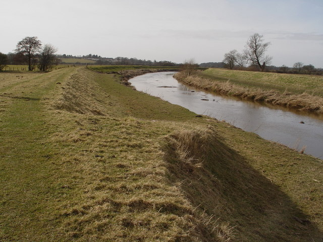 River Wyre At Great Eccleston