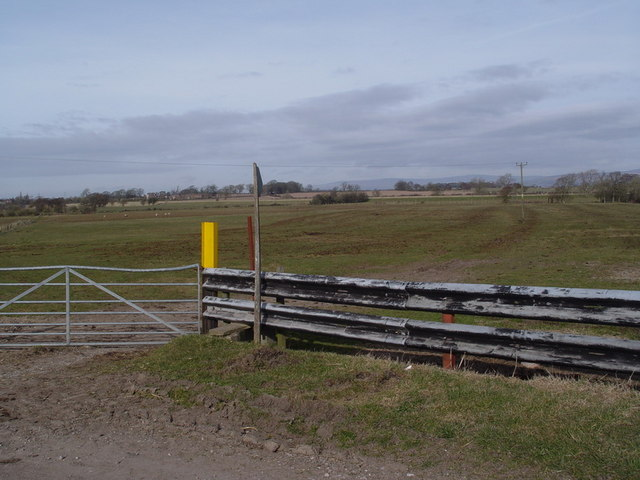 Public Footpath From Farm to River