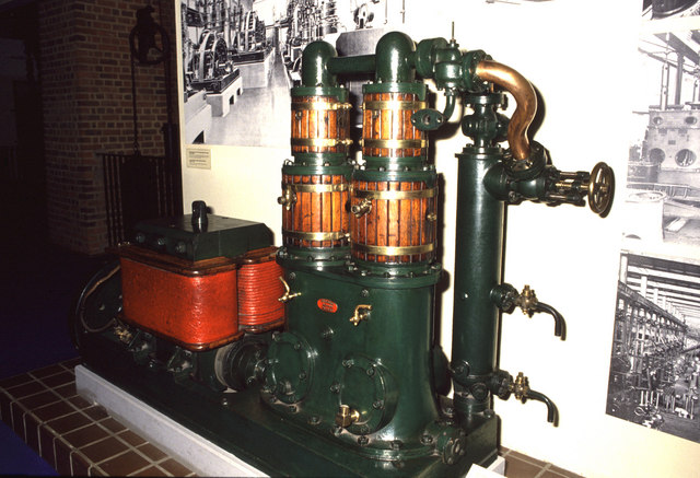 Science Museum, Willans steam engine