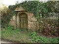 SX0657 : Granite gateway, Trethevey by Derek Harper