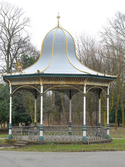 Bandstand, Exhibition Park, Newcastle