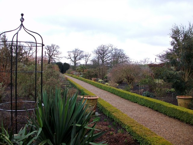 Walled garden at Felbrigg Hall