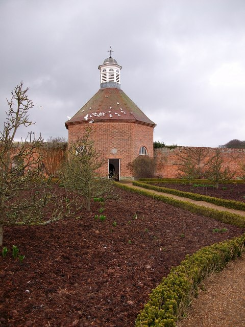 Dovecote in Walled Garden at Felbrigg Hall