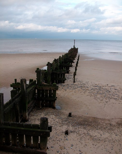 Groynes Overstrand Beach